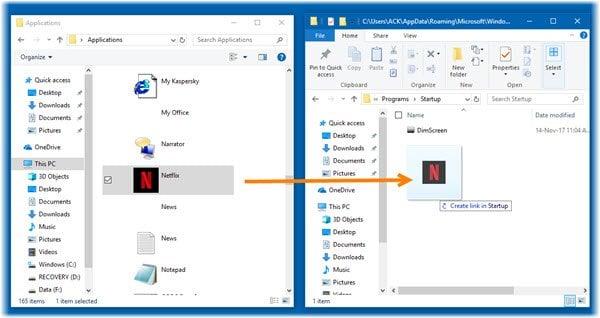 Cómo abrir aplicaciones de Windows Store al iniciar en Windows 10