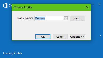 El archivo no se puede abrir en Outlook - Archivo de datos de Outlook