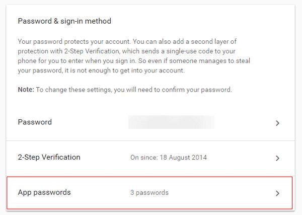 Outlook no puede conectarse a Gmail, sigue pidiendo la contraseña