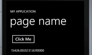 Uso de métodos de ayuda simples al desarrollar aplicaciones de Windows Phone 7.5 Mango: Parte 8