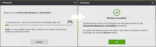 Transferencia a PC: Software gratuito de transferencia de datos portátil para Windows XP | 7 | 8 2