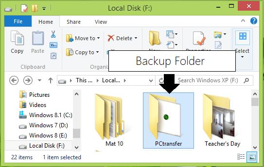Transferencia a PC: Software gratuito de transferencia de datos portátil para Windows XP | 7 | 8 3