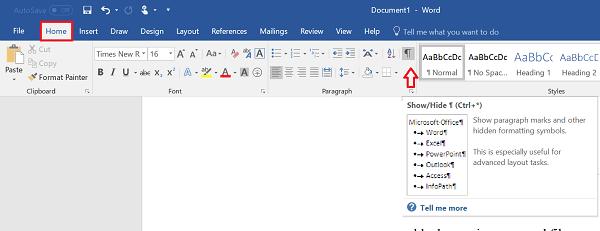 Cómo eliminar una página en blanco al final de un documento de Microsoft Word