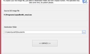 Quemador Passcape ISO: Herramienta portátil para grabar archivos ISO en Windows