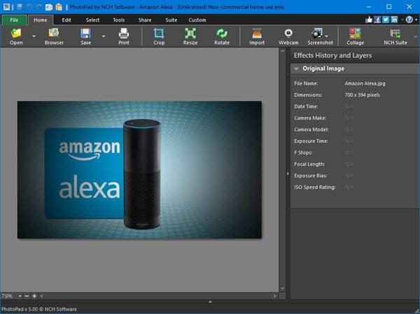 PhotoPad es un software gratuito de edición de fotos para PC con Windows. 2