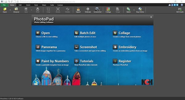PhotoPad es un software gratuito de edición de fotos para PC con Windows. 1
