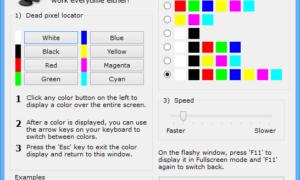Reparación de píxeles: Un fijador de píxeles atascados para detectar y corregir píxeles atascados