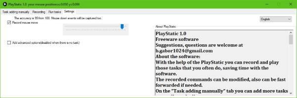 Automatice su trabajo repetitivo con PlayStatic