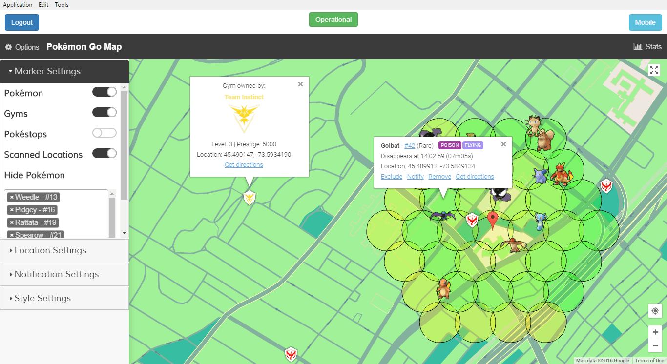 Encuentra los mejores Pokémon con Pokémon GO Mapa en vivo