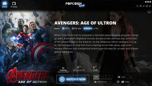 Popcorn Time le permite ver películas y programas de TV sin necesidad de descargarlos.