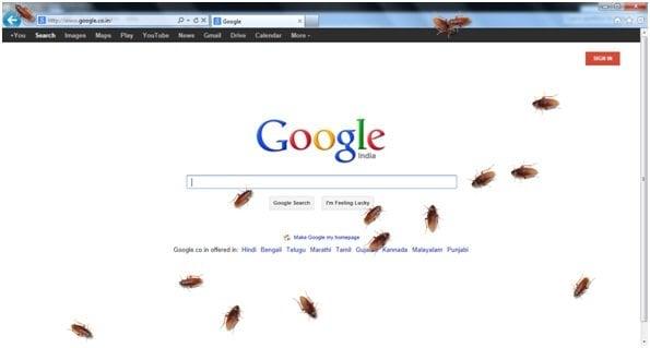 Divertidas descargas gratuitas para poner insectos en el escritorio de Windows