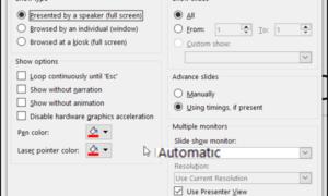 Cómo ver sus notas de orador en privado en las presentaciones de PowerPoint