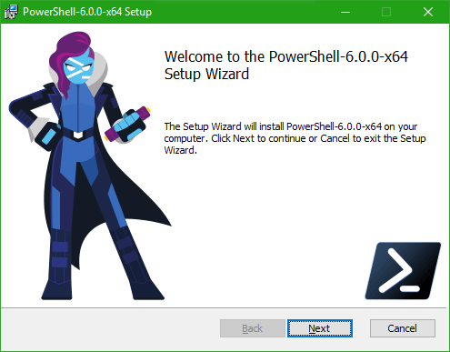 Diferencia entre PowerShell y PowerShell Core 1