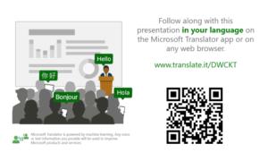 Presentation Translator le permite agregar subtítulos en vivo y traducir presentaciones