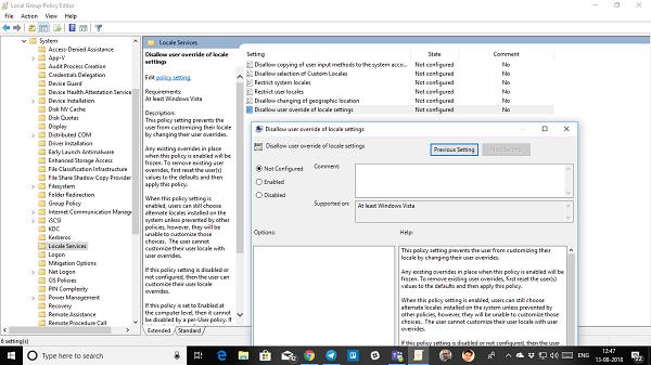 Evitar que los usuarios cambien la fecha y la hora en Windows 10 2