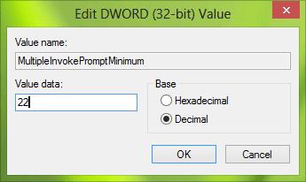 Windows no le permite imprimir más de 15 archivos