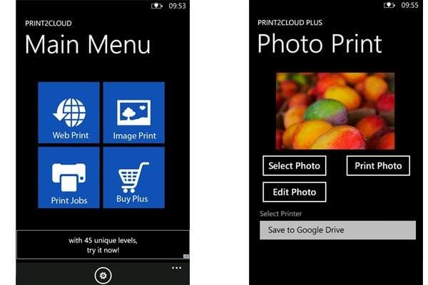 Imprimir documentos y fotos desde Windows Phone