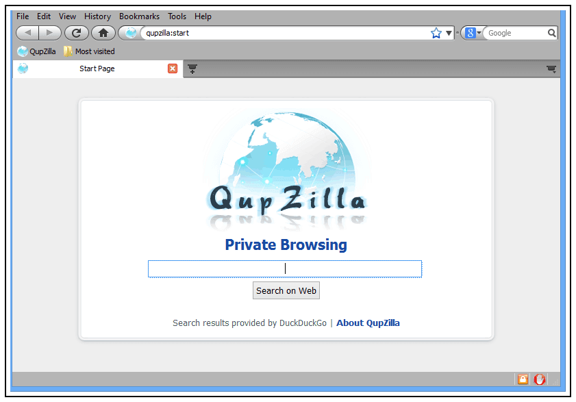QupZilla: Navegador Web multiplataforma de código abierto 5