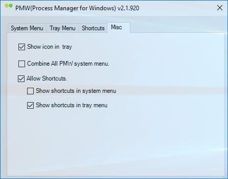 Process Manager para Windows le permite administrar los procesos fácilmente