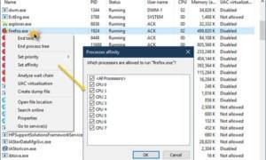 Qué es Processor Affinity y cómo configurar Processor Affinity en Windows 10