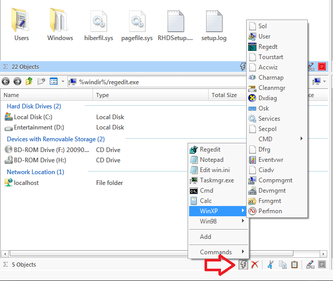 Q-Dir: programa gratuito de reemplazo de Quad Explorer para Windows