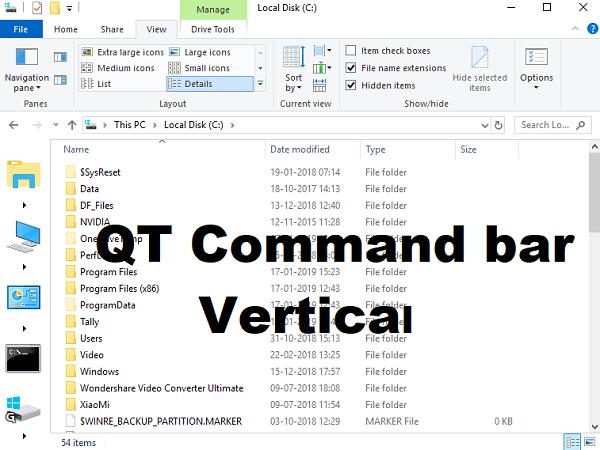 QTTabBar: Personalice y amplíe la funcionalidad del Explorador con pestañas y funciones de navegación 5
