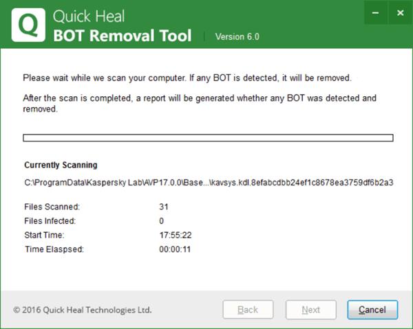 Herramientas gratuitas de eliminación de botnets para Windows