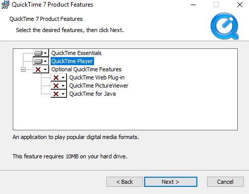 Cómo instalar QuickTime y reproducir archivos de vídeo MOV en Windows 10 1