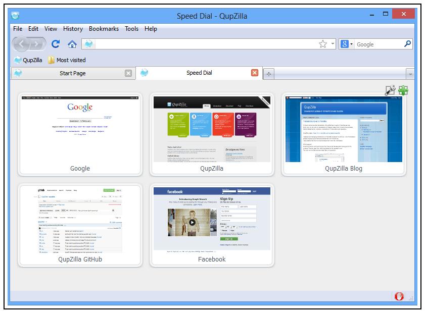 QupZilla: Navegador Web multiplataforma de código abierto 2