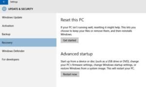 Cómo restaurar, actualizar y restablecer dispositivos Surface Pro