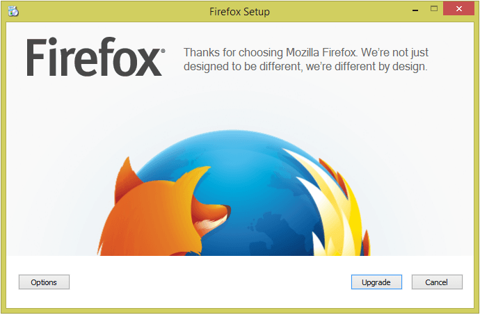 La aplicación Mozilla Firefox para Windows optimizada para Touch - Revisión 2