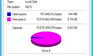 Cómo deshabilitar o habilitar ReFS o Resilient File System en Windows 10