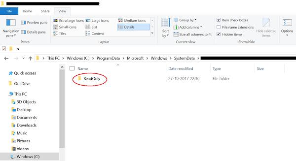 Cómo quitar el historial de imágenes de la pantalla de bloqueo de Windows 10