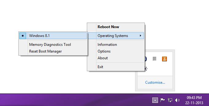 Reboot-To hace que los sistemas operativos de arranque dual sean fáciles