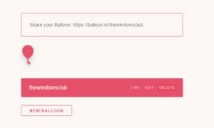 Recibir archivos de un usuario que no sea de Dropbox a su cuenta de Dropbox usando Balloon