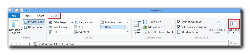 Anclar el menú Documentos recientes Pantalla de acceso directo a la página de inicio de Windows 8 4