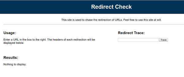 Cómo averiguar o comprobar a dónde se redirige el enlace o la URL a