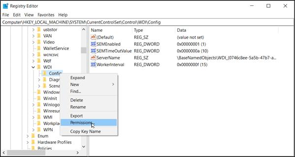 Windows no pudo iniciar el Servicio de políticas de diagnóstico