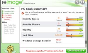 Revisión de Reparación de Imágenes: Herramienta para escanear y corregir errores del sistema operativo de Windows