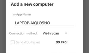 Desbloqueo remoto de huellas dactilares: Desbloquee Windows con el escáner de huellas dactilares Android