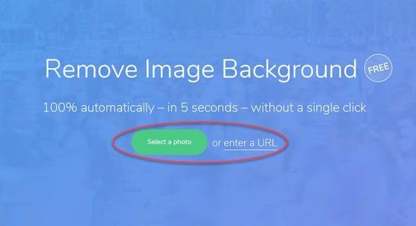 Eliminar.bg le permite eliminar el fondo de las imágenes y fotos en línea gratis 1