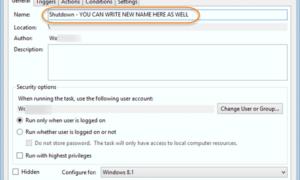 Cómo cambiar el nombre de una tarea programada en el Programador de tareas de Windows