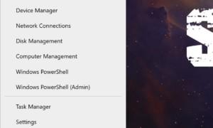 Cómo cambiar el nombre de los elementos del menú Win+X de Windows 10