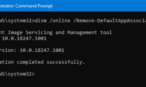 Cómo restablecer, exportar e importar asociaciones de aplicaciones predeterminadas en Windows