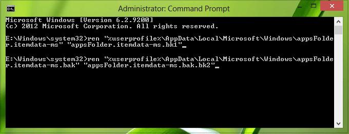 Restablecer la pantalla de inicio a su valor predeterminado en Windows 8 3