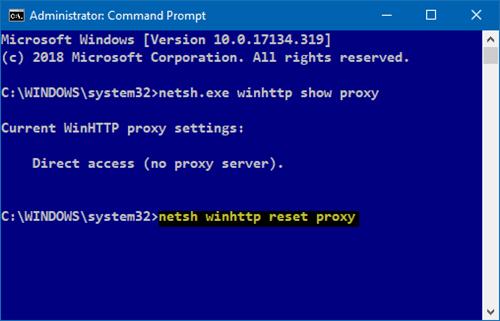 Error HTTP 500 - Error de instalación o actualización de Microsoft Edge 2