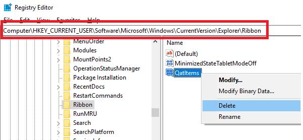 El acceso rápido en Windows 10 no funciona o se abre lentamente