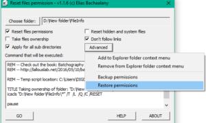 Cómo restablecer los permisos de archivos NTFS en Windows 10/8/7