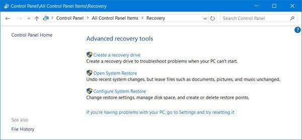 Cómo restaurar, actualizar y restablecer dispositivos Surface Pro 1