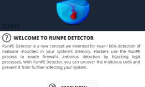 Detector RunPE: Detectar malware residente en la memoria, RATs, Crypters Backdoors, Packers